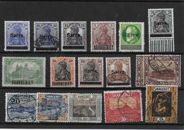 Lot Saargebiet - Used Stamps
