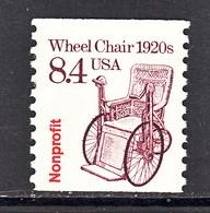 U.S.  2256  **  1920's  WHEEL CHAIR - Handicaps