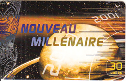 FRENCH POLYNESIA(chip) - Nouveau Millenaire, 12/00, Used - French Polynesia