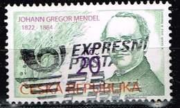 Tschechien 2012, Michel# 715 O Johann Gregor Mendel (1822 - 1884) - Tschechische Republik