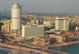 Postcard Heart Of Colombo The Fort And Harbour Sri Lanka My Ref  B23187 - Sri Lanka (Ceylon)