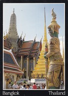 Postcard Bangkok Thailand Temple Of The Emerald Buddha My Ref  B23188 - Thailand