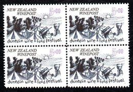 New Zealand Wine Post Festival Block Of Four - New Zealand