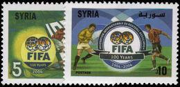 Syria 2004 FIFA Unmounted Mint. - Syria