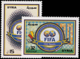 Syria 2004 FIFA 2nd Issue Unmounted Mint. - Syria