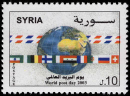 Syria 2003 World Post Day Unmounted Mint. - Syria