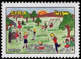 Syria 2003 World Child Day Unmounted Mint. - Syrie