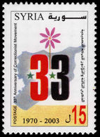 Syria 2003 Corrective Movement Unmounted Mint. - Syrie