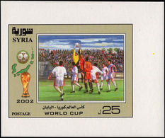 Syria 2002 World Cup Football Souvenir Sheet Unmounted Mint. - Syrie