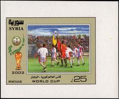Syria 2002 World Cup Football Souvenir Sheet Unmounted Mint. - Syria