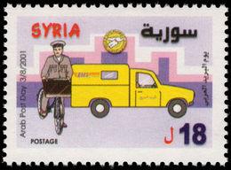 Syria 2001 Arab Post Day Unmounted Mint. - Syria