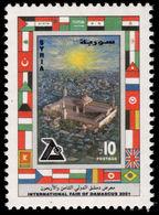 Syria 2001 Damascus Fair Unmounted Mint. - Syria
