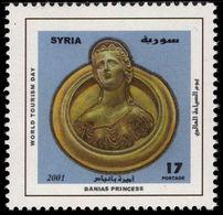 Syria 2001 World Tourism Day Unmounted Mint. - Syria