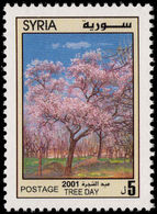 Syria 2001 Tree Day Unmounted Mint. - Syria