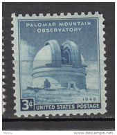 USA, MNH, Astronomie, Astronomy, Télescope, Physique, Physic, Observatoire, Observatory - Astronomie