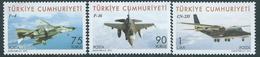 Turchia Turkey 2010 Aircraft, Airplane, Complete Series, MNH - Nuevos