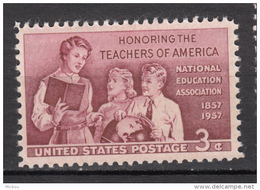USA, MNH, Géographie, Geography, Professeur, Teacher, Terre, Earth, Globe Terrestre, Livre, Book, Enseignement - Géographie