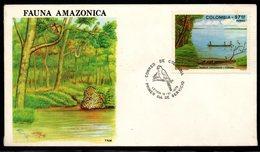 COLOMBIA- KOLUMBIEN- 1979. FDC/SPD.  AMAZONAS RIVER - Kolumbien