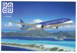Polynésie Française / Tahiti - Carte Postale Prétimbrée à Poster 2018 Entier - Air Tahiti Nui - Polinesia Francesa