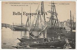 29 - CONCARNEAU - Le Port Et Le Quai Pénéroff - Vue Prise Du Pont De La Ville ++++ La Bretagne / ELD, #260 ++++ - Concarneau