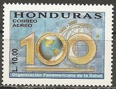 Honduras. Scott # C1116 MNH. 100th. Anniv. Of PAHO. Joint Issue With Chile 2002 - Joint Issues