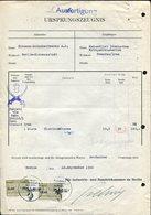 Germany-USSR-Iran 1940 Berlin Chamber Of Commerce Local Revenue 0,50 RM Industrie Und Handelskammer Fiscal Tax Document - Documentos Históricos