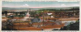 71)  LE CREUSOT - Les Forges Et Les Hauts Fourneaux La Première Usines Du Creusot établie Au Hameau De Charbonnière 1781 - Le Creusot