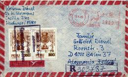 HUANUCO / Peru - 1989 , 300. Jahrestag Der Veröffentlichung Der Gesetze - Peru