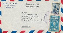 CARACAS / Venezuela - Brief Nach Nürnberg - Venezuela