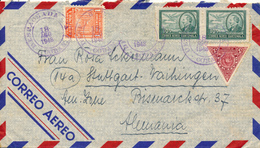 GUATEMALA - 1948 , Nach Stuttgart - Guatemala