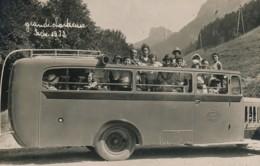 H204 - 38 - Grande Chartreuse 1932 - Isère - Service D'autobus Grand Garage Central 25 Cours Jean-Jaures à Grenoble - France