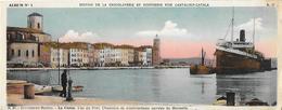 13)  LA  CIOTAT  - Vue Du Port  - Chantiers De Constructions Navales De Marseille - La Ciotat