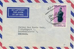 BAGHDAD - 1966 , Letter To Stuttgart - Irak