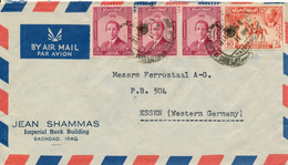 BAGHDAD / Iraq - 1954 , Letter To Essen - Irak