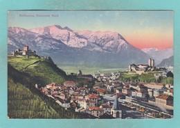 Old Post Card Of Bellinzona, Ticino, Switzerland ,R77. - TI Ticino