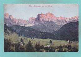 Old Post Card Of Rosengarten In Tirol,R77. - Other