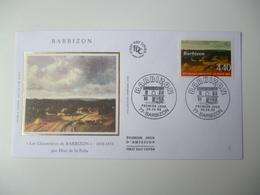 Enveloppe Ier Jour FDC 1995  Barbizon - FDC