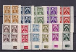 (B&M)  **, Postfrisch, MiNr.  Ex D1-12 - Occupation 1938-45