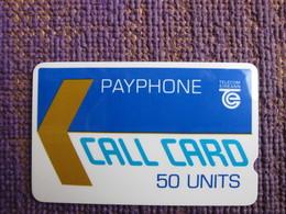 GPT Trial Phonecard,50 Units,engraved Serials Number 001022, Semi-circular Notch,mint - Irlanda