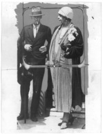 RO 46 - 13343 Queen MARY And Prince NICOLAE, Romania, Royalty - Old Postcard, Real PHOTO - Unused 22/16 Cm - Rumania