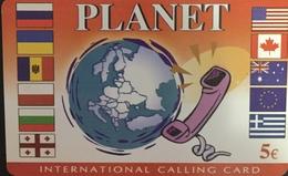 Paco \ GRECIA \ Bn Telecom \ GR-BNT-PLA-0001a ? \ Planet \ Usata - Griekenland