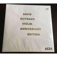 David Oistrakh, Violin Anniversary Edition 5 CDs Box Set Melodia - Classical