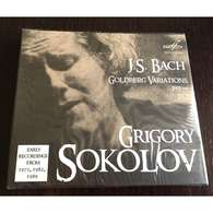 Grigory Sokolov, Piano: Bach Goldberg Variations Bwv 988 2 CDs Melodia, New - Classical