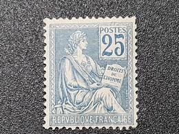 Mouchon N° 118 Neuf ** Gomme D'Origine à 14% De La Cote  Etat Bien - France