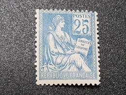 Mouchon N° 114 Neuf ** Gomme D'Origine Signé SCHELLER à 18% De La Cote  TTB - France