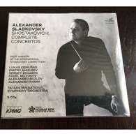 ALEXANDER SLADKOVSKY: SHOSTAKOVICH: COMPLETE CONCERTOS Box Set 3 CDs - Classical