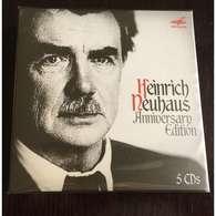 HEINRICH NEUHAUS, Piano: Anniversary Edition: Brahms Rachmaninov Schumann Shostakovich Arensky 5CD Melodia, New - Classical