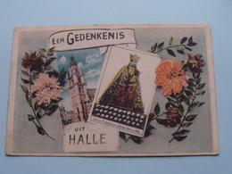 Een Gedenkenis Uit HALLE / Statue Miraculeuse De N.D. De Halle ( Emile Dumont ) Anno 1925 ( Zie Foto Details ) ! - Halle