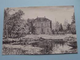 """ HERTOGENBURG "" Domein Der K.S.A. Brabant - WESPELAAR ( Auxilia / Chromocolor ) Anno 1946 ( Zie Foto Details ) ! - Haacht"