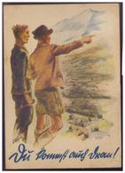 DT-Reich (006800) Propaganda KDF Karte, Du Kommst Auch Dran, Gelaufen Swinemünde Am 31.8.1934 - Deutschland